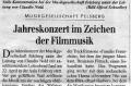 Unterhaltungsabend vom 22. April 2006, Aula Felsberg  Zeitungsartikel