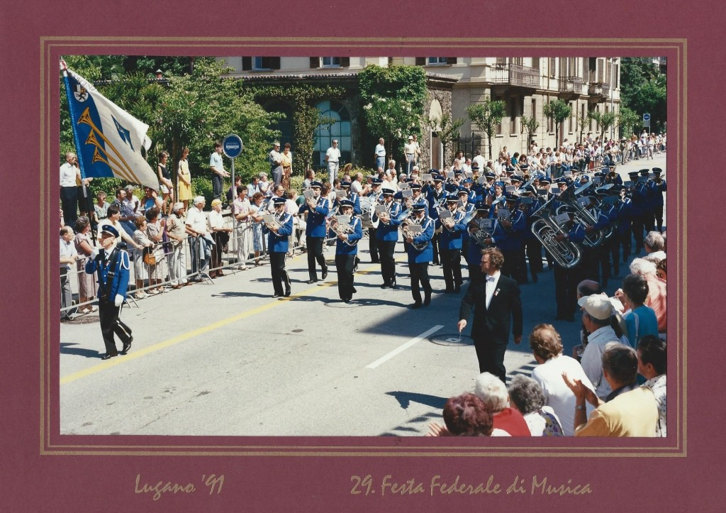 EMF Lugano 1991 Marschmusik