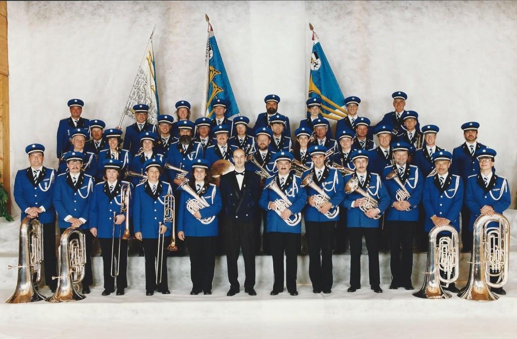 Kantonales Musikfest 1997 mit Dirigent Conrad Derungs