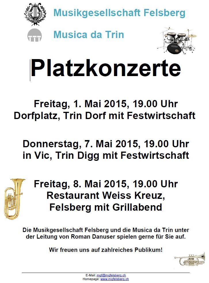 Plakat Platzkonzerte 2015